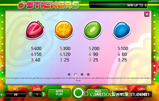 Stickers slot screenshot 4