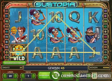 Subtopia Spielautomat screenshot 1