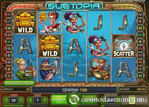 Subtopia Spielautomat screenshot 2