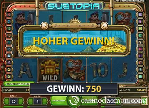 Subtopia Spielautomat screenshot 3