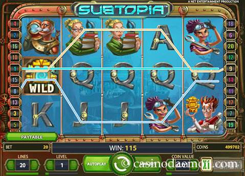 Subtopia slot screenshot 1