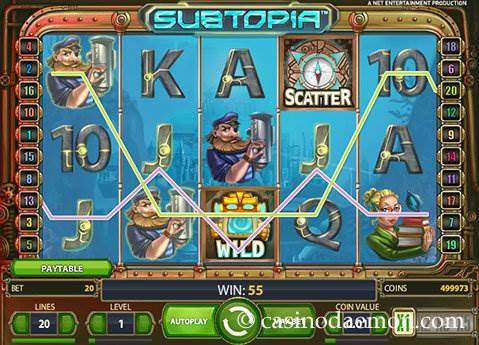 Subtopia slot screenshot 2