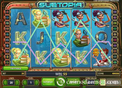 Subtopia slot screenshot 3