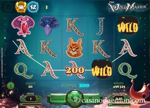 The Wish Master Spielautomat screenshot 3