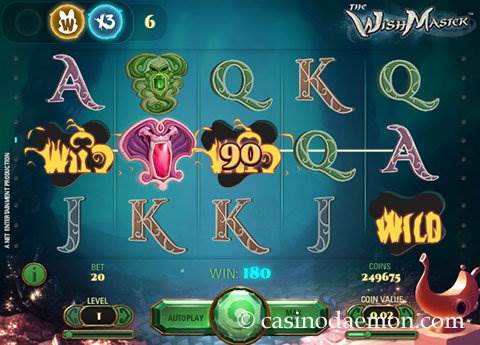 The Wish Master slot screenshot 1