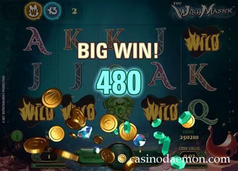 The Wish Master slot screenshot 2
