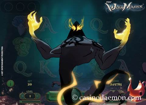 The Wish Master slot screenshot 3