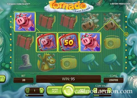 Tornado Farm Escape  slot screenshot 1