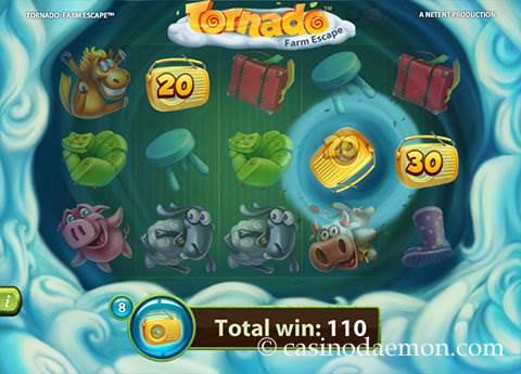 Tornado Farm Escape  slot screenshot 3