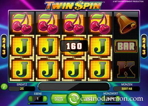 Twin Spin Spielautomat screenshot 1