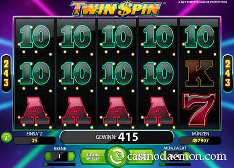 Twin Spin Spielautomat screenshot 2