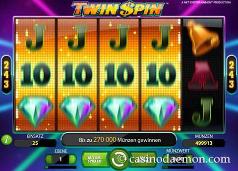 Twin Spin Spielautomat screenshot 3
