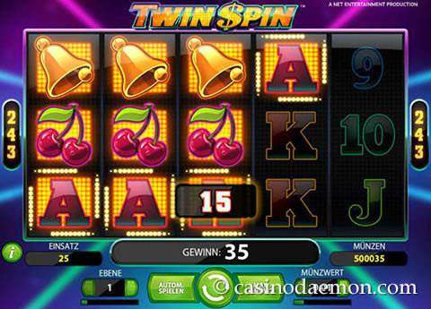 Twin Spin Spielautomat screenshot 4