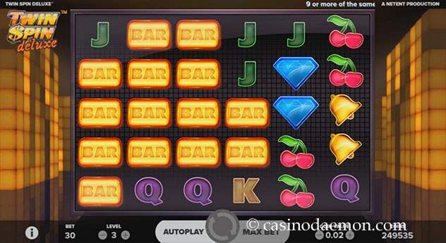 Twin Spin Deluxe Spielautomat screenshot 2
