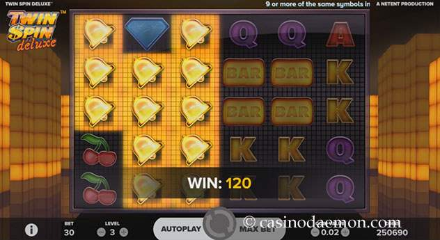 Twin Spin Deluxe Spielautomat screenshot 3