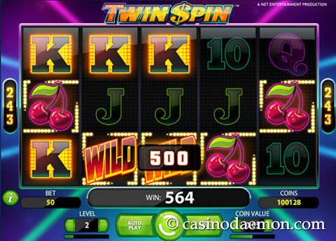 Twin Spin slot screenshot 1