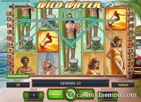 Wild Water Spielautomat screenshot 1