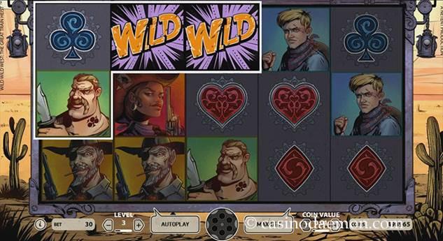 Wild Wild West Spielautomat screenshot 3
