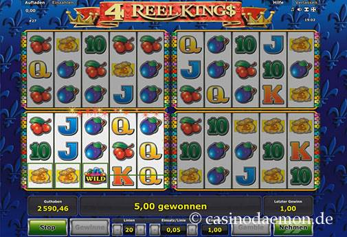 4 Reel Kings slot screenshot 3