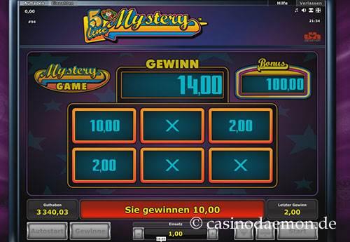 5 Line Mystery Spielautomat screenshot 2