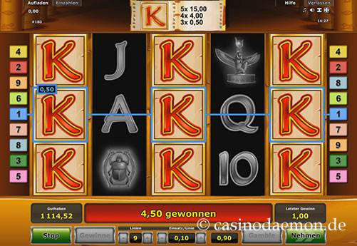 Book of Ra Spielautomat screenshot 1
