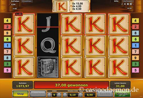 Book of Ra Spielautomat screenshot 2