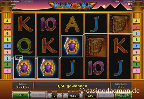 Book of Ra Spielautomat screenshot 3