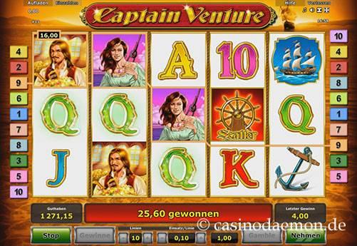 Captain Venture Spielautomat screenshot 3