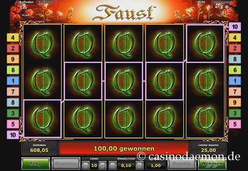 Faust slot screenshot 2