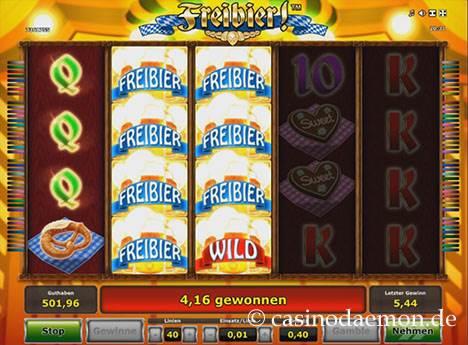 Freibier Spielautomat screenshot 2
