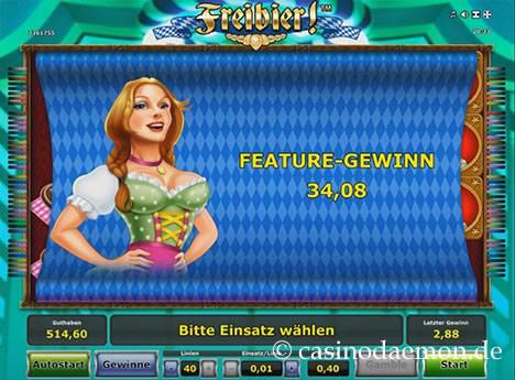 Freibier Spielautomat screenshot 3