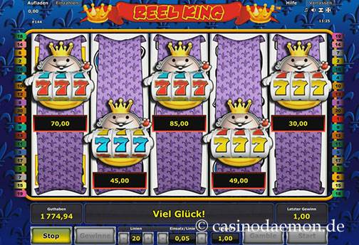 Reel King slot screenshot 2