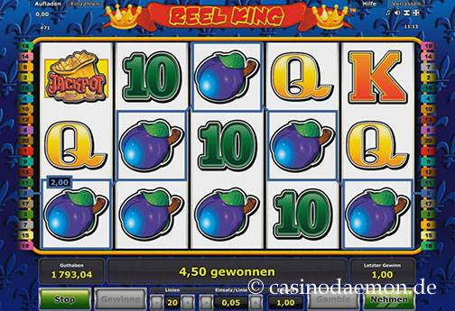 Reel King slot screenshot 3