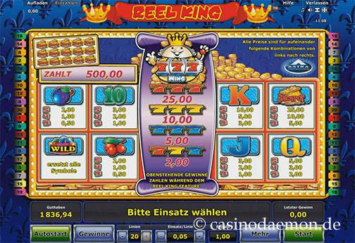 Reel King slot screenshot 4