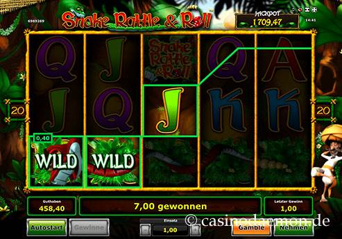 Snake Rattle & Roll Spielautomat screenshot 1