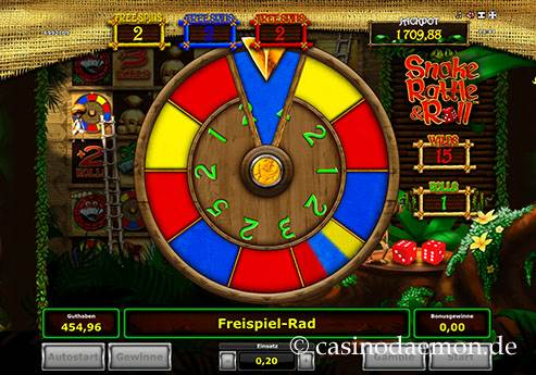 Snake Rattle & Roll slot screenshot 2