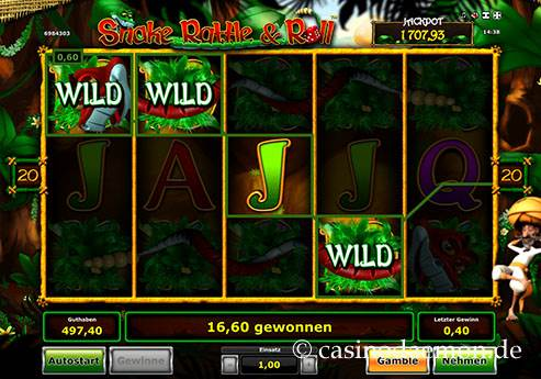 Snake Rattle & Roll Spielautomat screenshot 3