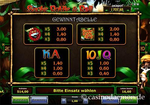 Snake Rattle & Roll slot screenshot 4