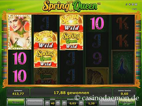 Spring Queen Spielautomat screenshot 3