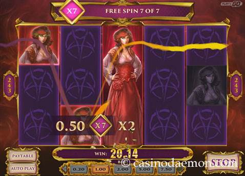 7 Sins slot screenshot 2