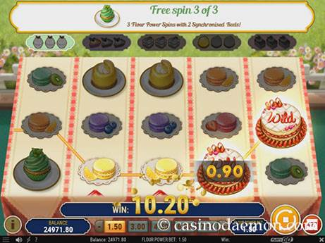 Baker's Treat slot screenshot 1