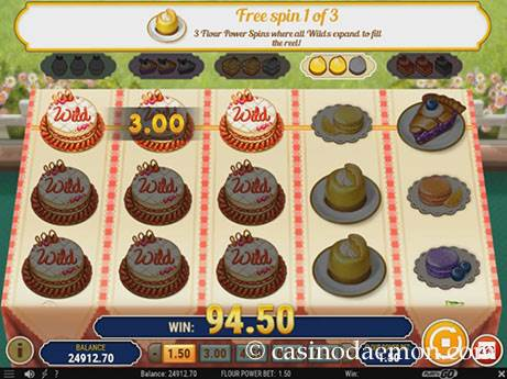 Baker's Treat slot screenshot 2