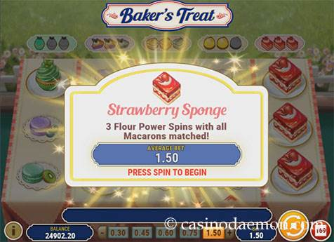 Baker's Treat slot screenshot 3