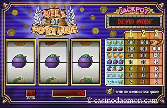 Bell of Fortune slot screenshot 4