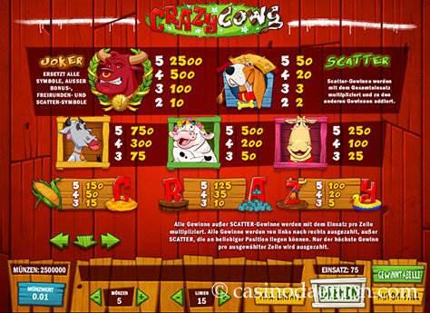 Crazy Cows Spielautomat screenshot 4