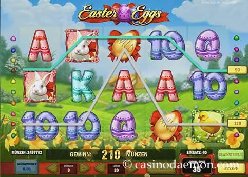 Easter Eggs Spielautomat screenshot 1