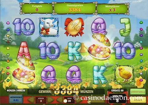 Easter Eggs Spielautomat screenshot 2