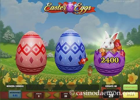 Easter Eggs Spielautomat screenshot 3