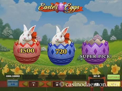 Easter Eggs slot screenshot 3