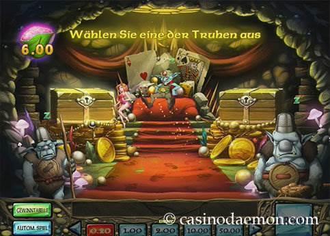 Enchanted Crystals Spielautomat screenshot 3